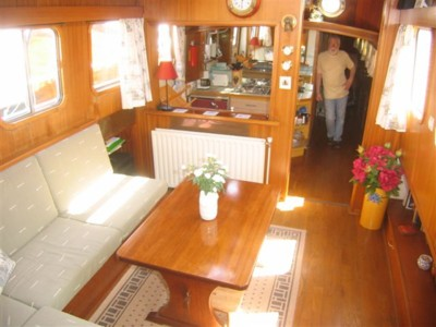 Gallery For Small Houseboat Interiors